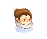 의상 원숭이 털모자