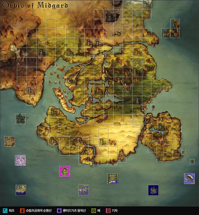 지역 지도