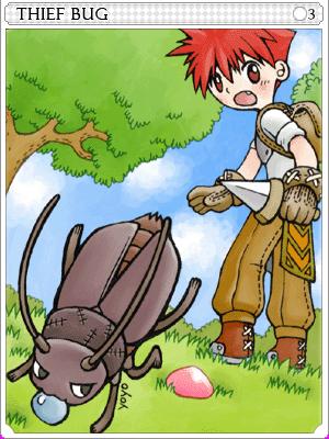 도둑벌레 카드 이미지