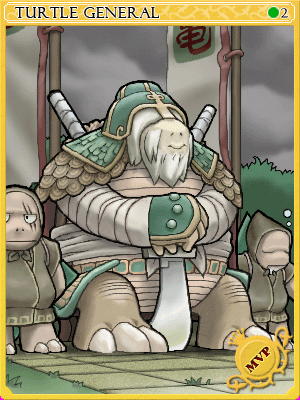 터틀제네럴 카드 이미지