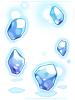 의상 부유하는 얼음 이미지