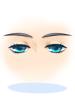의상 깜빡이는 작은 눈 이미지