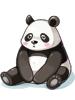 의상 베이비 팬더 이미지