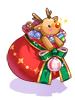 의상 산타의 주머니 이미지