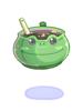 개구리알 먹물 스프 이미지