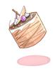초콜렛무스 케이크 이미지