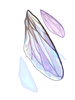 거대한 파리의 날개 이미지
