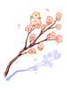 꽃가지 이미지