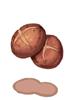 버섯 구이 이미지