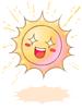 의상 맑은 태양 이미지
