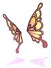 의상 나비 날개 귀 이미지