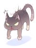 의상 늘어진 고양이 크루 이미지