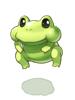 의상 개구리 모자 이미지