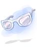 의상 인비지블 선글라스 이미지
