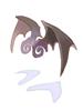 의상 악마의 날개귀 이미지