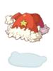 의상 양갈래 산타모자 이미지