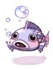 의상 물고기 머리 모자 이미지
