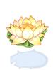 의상 연꽃 모자 이미지