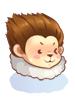 의상 원숭이 털모자 이미지