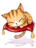 의상 졸린 고양이 모자 이미지