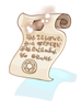 [비매품]빛나는 방어 스크롤 이미지