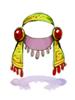의상 룬 매듭 머리띠 이미지