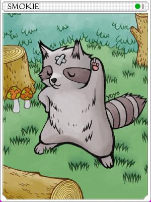 스모키 카드 이미지