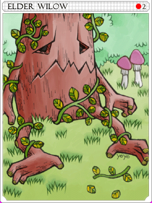 엘더윌로우 카드 이미지
