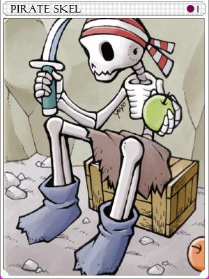 파이어럿 스켈 카드 이미지