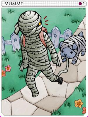 미이라 카드 이미지