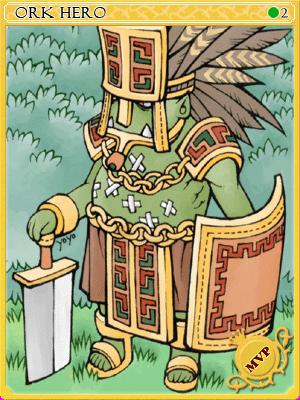 오크히어로 카드 이미지