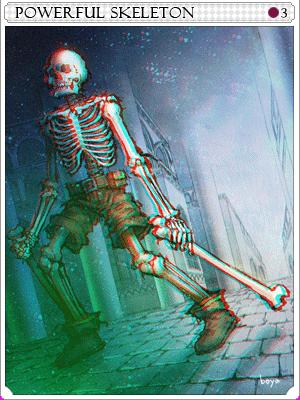 강화 스켈레톤 카드 이미지