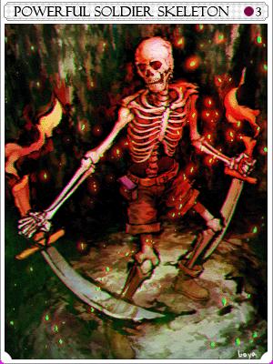 강화 솔져 스켈레톤 카드 이미지