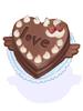 소박한 초콜렛 이미지