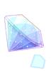 손상된 다이아몬드 이미지