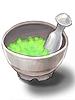 초록색 염료 이미지