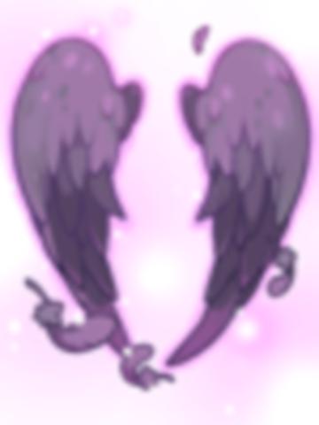 의상 타락천사의 날개 이미지