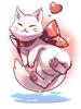 의상 행복한 고양이 이미지