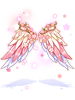 의상 벚꽃 날개 이미지