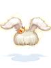 의상 앙고라 토끼 모자 이미지